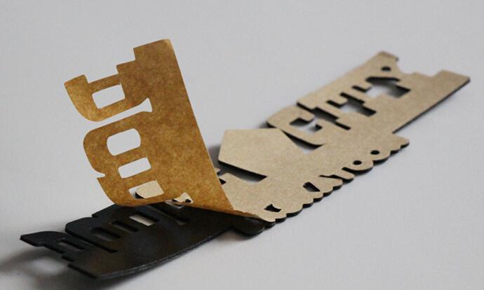 logo label die cutting machinery