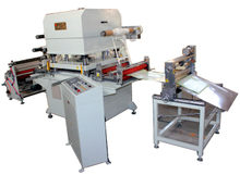 Transfer Tape automatic die cutting machine with sheeting function